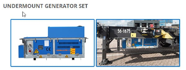 undermount generator
